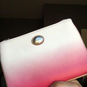 Coach Wristlet Ombré Pink Vintage Designer